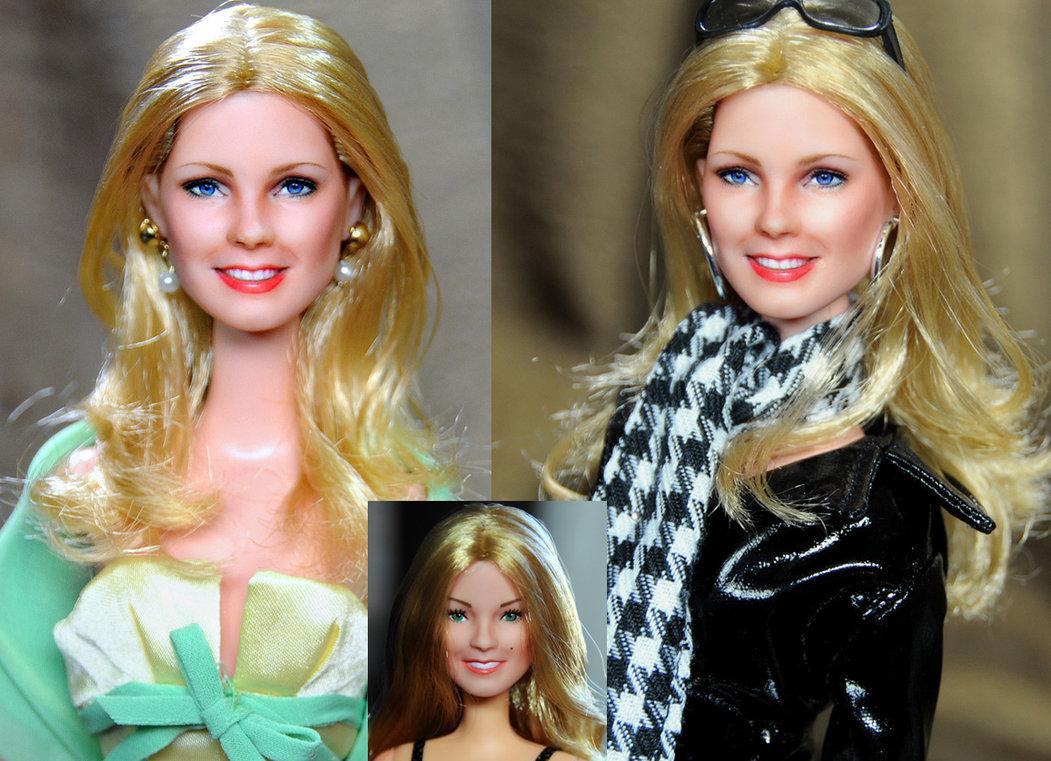 Cheryl Ladd Kris Munroe angeles charlie muñeca doll
