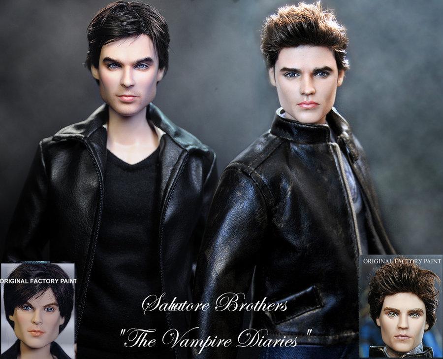 Cronicas vampiricas Stefan Damon muñecos dolls