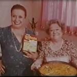 Florinda Chico y Rafaela Aparicio anuncian el arroz Brillante
