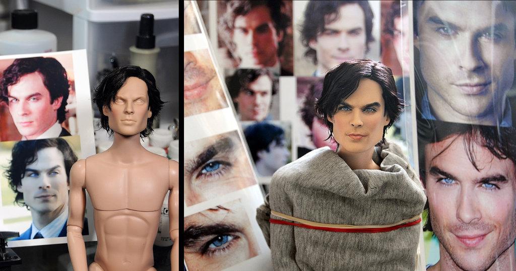 Ian Somerhalder 1864 Damon muñeco doll