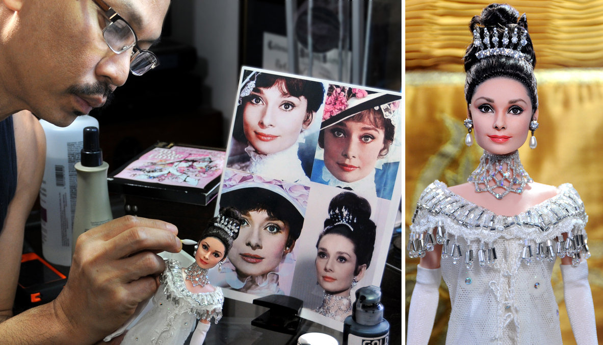 My Fair Lady Audrey Hepburn muñeca doll