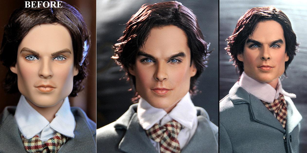 Vampire Diaries Damon 1864 muñeco doll