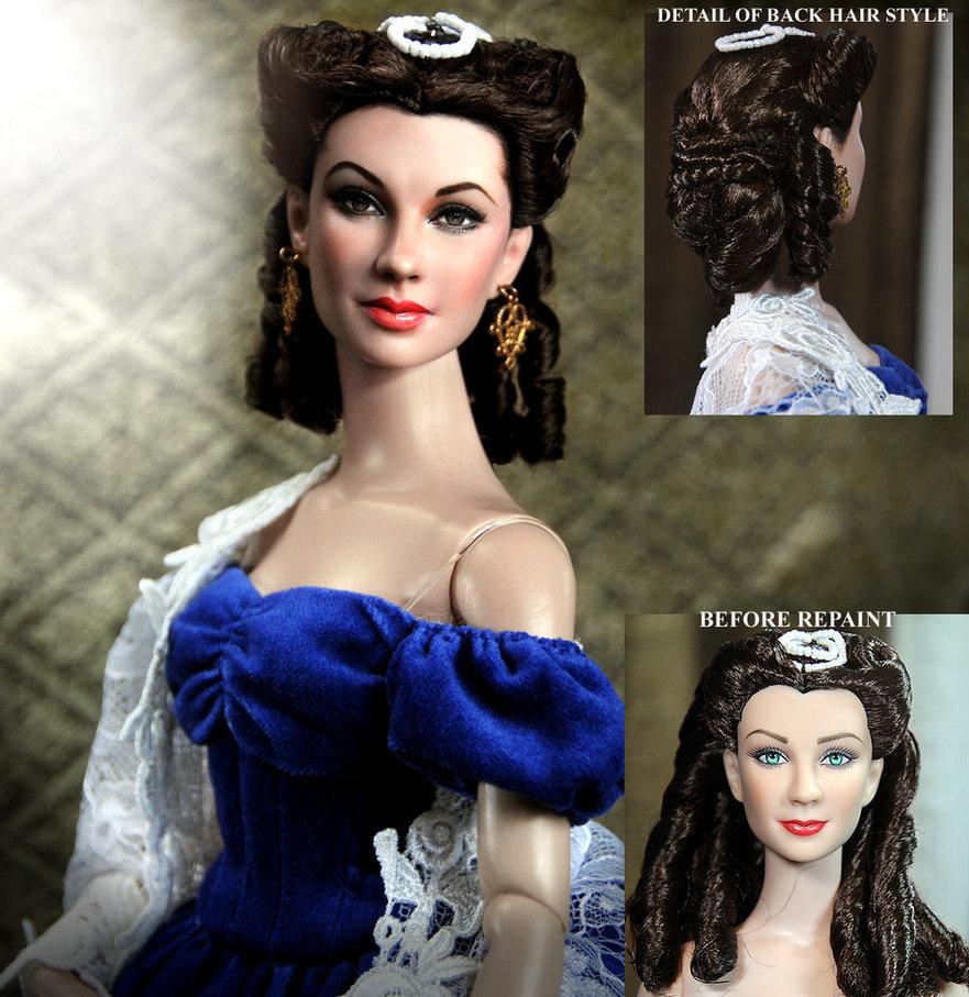 Vivien Leigh Scarlett O'hara muñeca doll