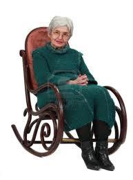 abuela mecedora
