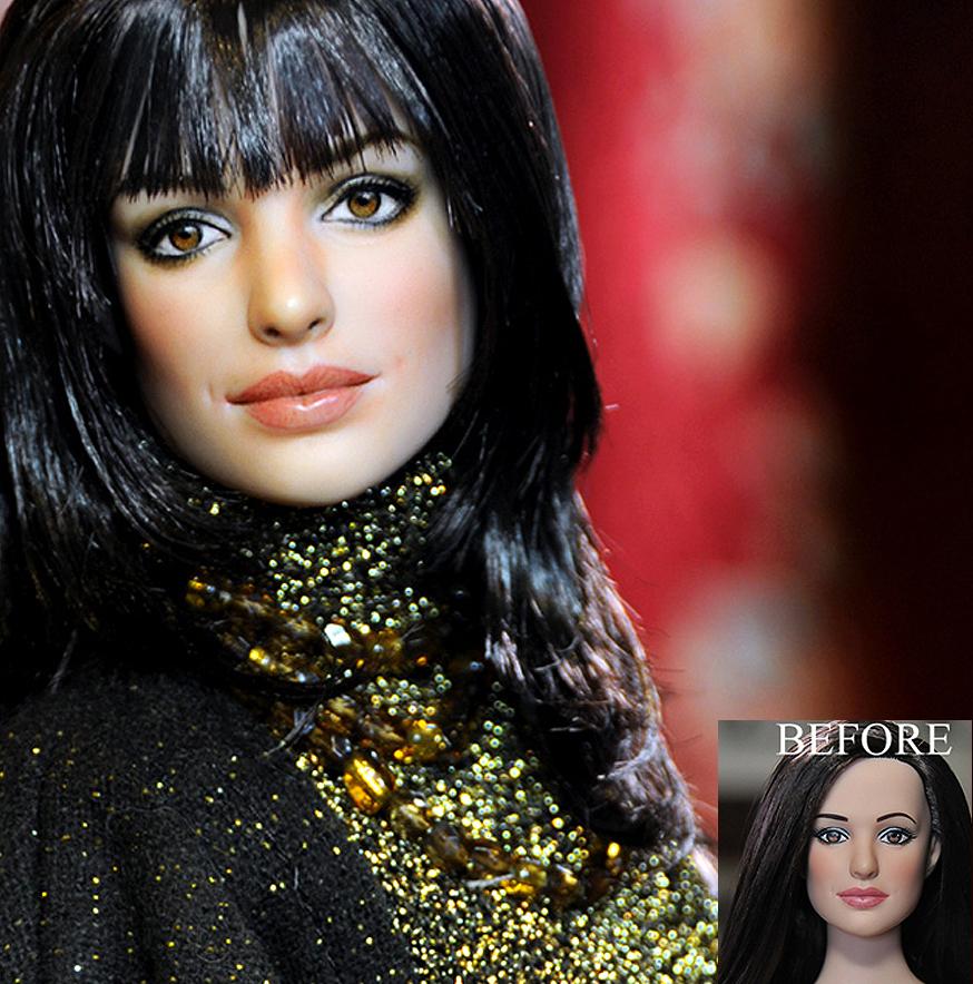 anne hathaway Andrea Sachs diablo viste prada muñeca doll