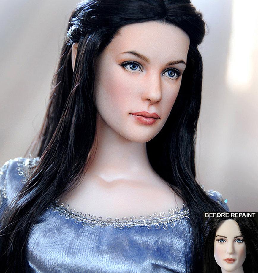 arwen muñeca doll señor anillos