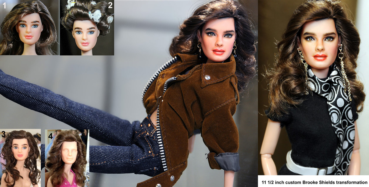 brooke shields muñeca doll