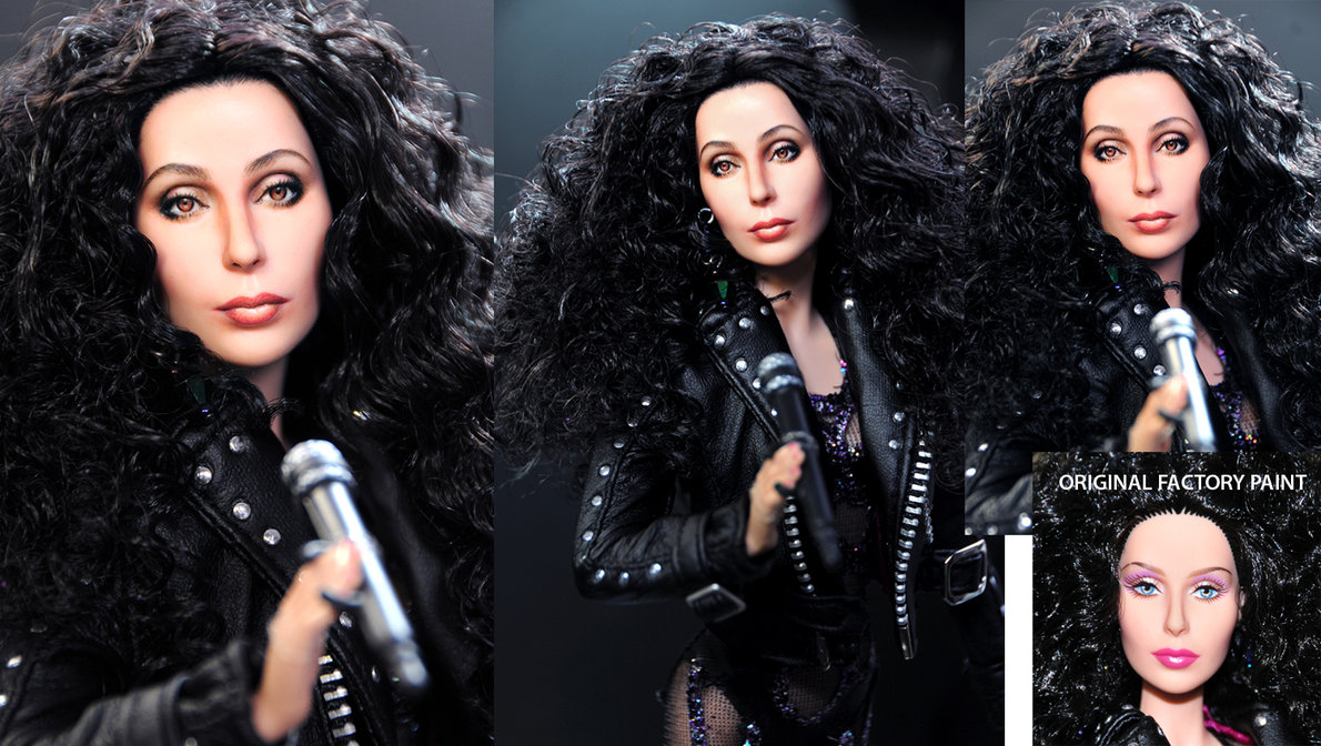 cher if i could turn back time muñeca doll