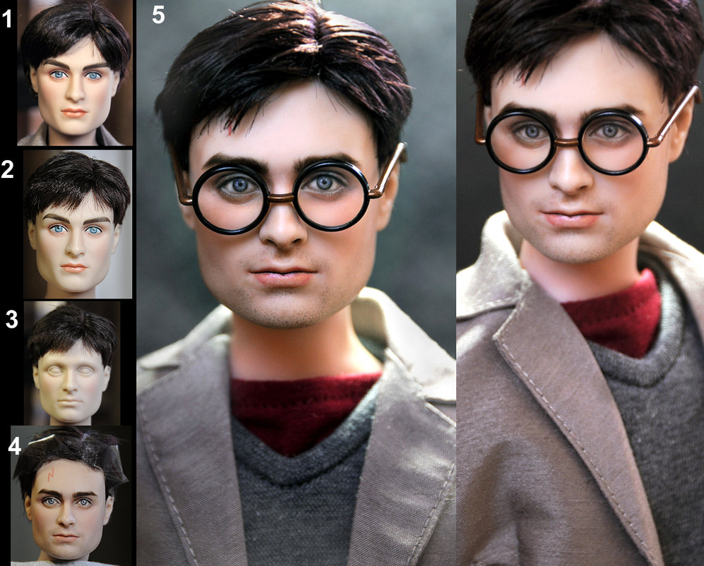 daniel radcliffe harry potter muñeco doll