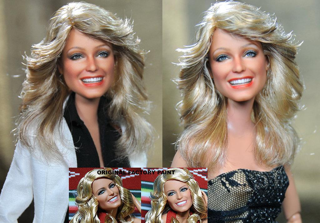 farrah fawcett Jill Munroe muñeca doll