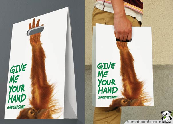 greenpeace give me your hand