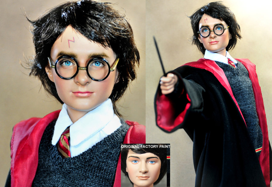 harry potter daniel radcliffe muñeco doll