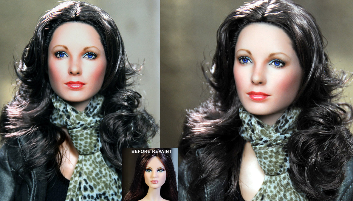 jaclyn smith Kelly Garret angeles charlie muñeca doll