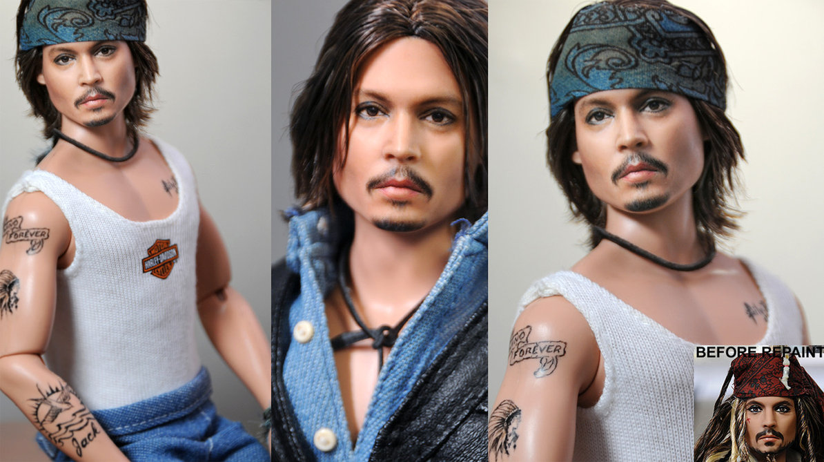 johnny depp muñeco doll
