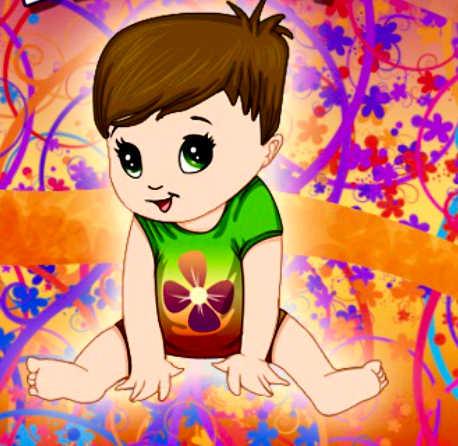 juego-bebe-flores