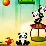Juego con el bebé Panda
