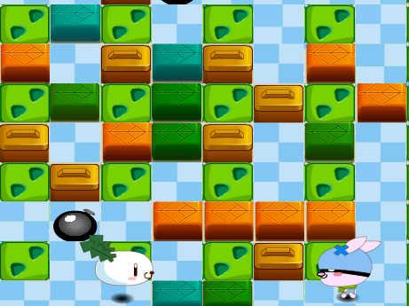 juego-conejito-bomberman