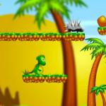 Juego con el dragóncito perdido