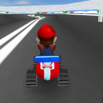 Juego con Mario en las carreras
