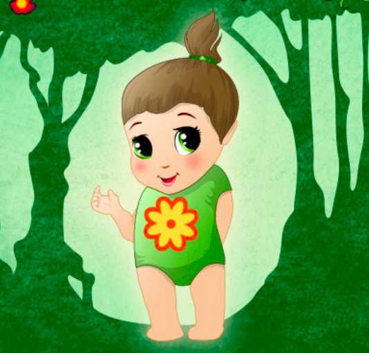 juego-moda-bebe-bosque