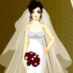 Juego de moda para la novia elegante