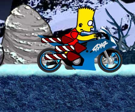 juego-moto-bart-simpson