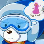 Juego con el oso polar Bob