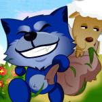 Juego con el perro pastor