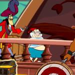 Juego con Peter Pan y Garfio