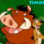 Juego con Timon y Pumba