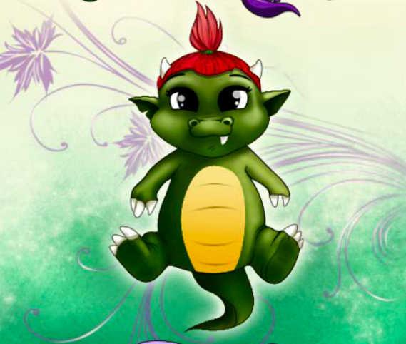juego-vestir-bebe-dragon
