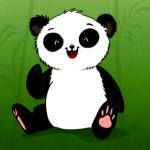 Juego de vestir al bebé panda