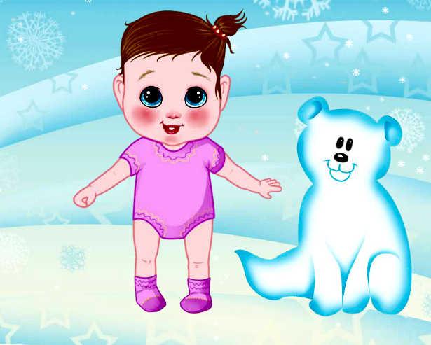 Juego De Vestir A Los Bebés Para Invierno Juegos