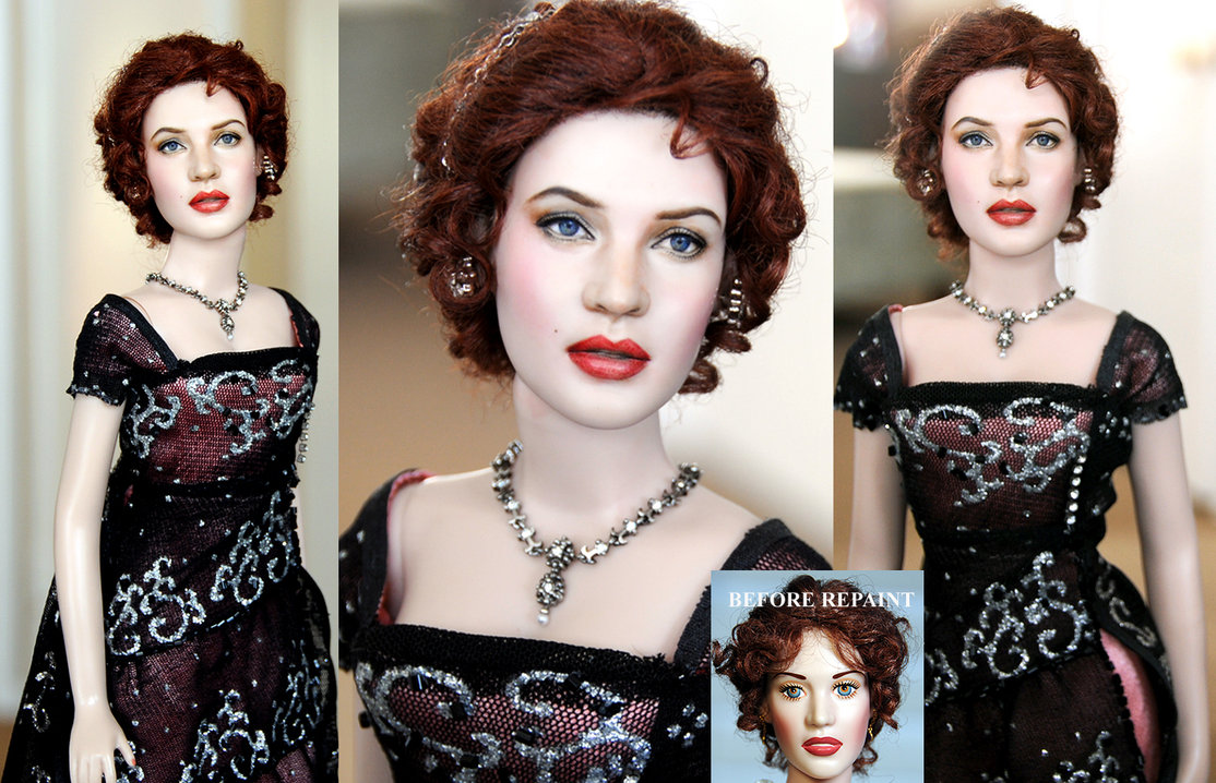kate winslet rose titanic muñeca doll