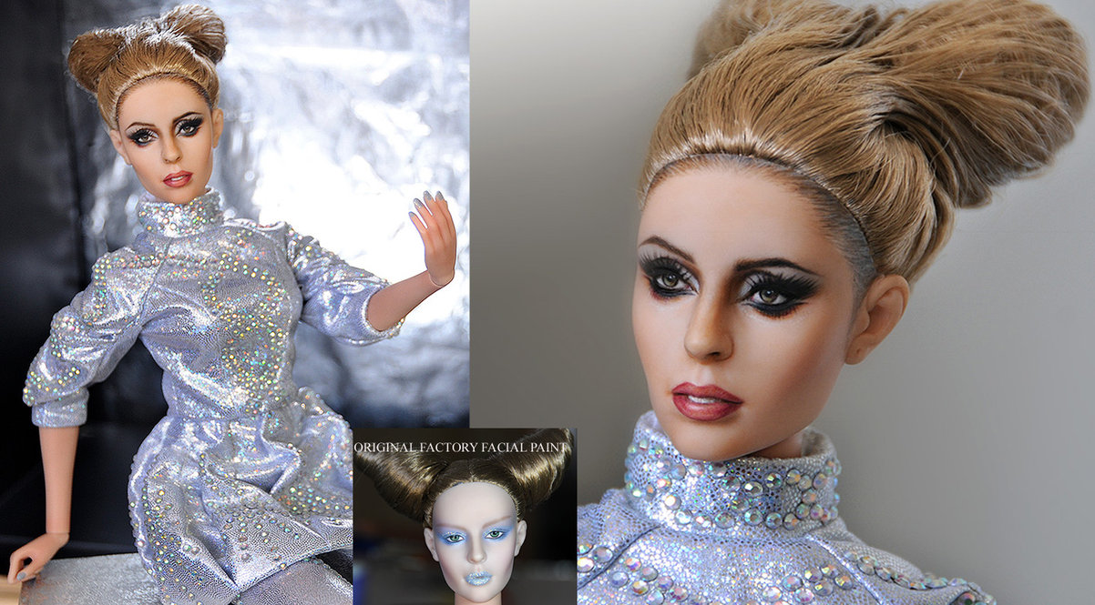 lady gaga bad romance muñeca doll