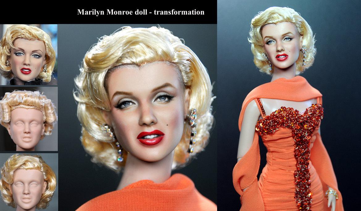 marilyn monroe muneca doll