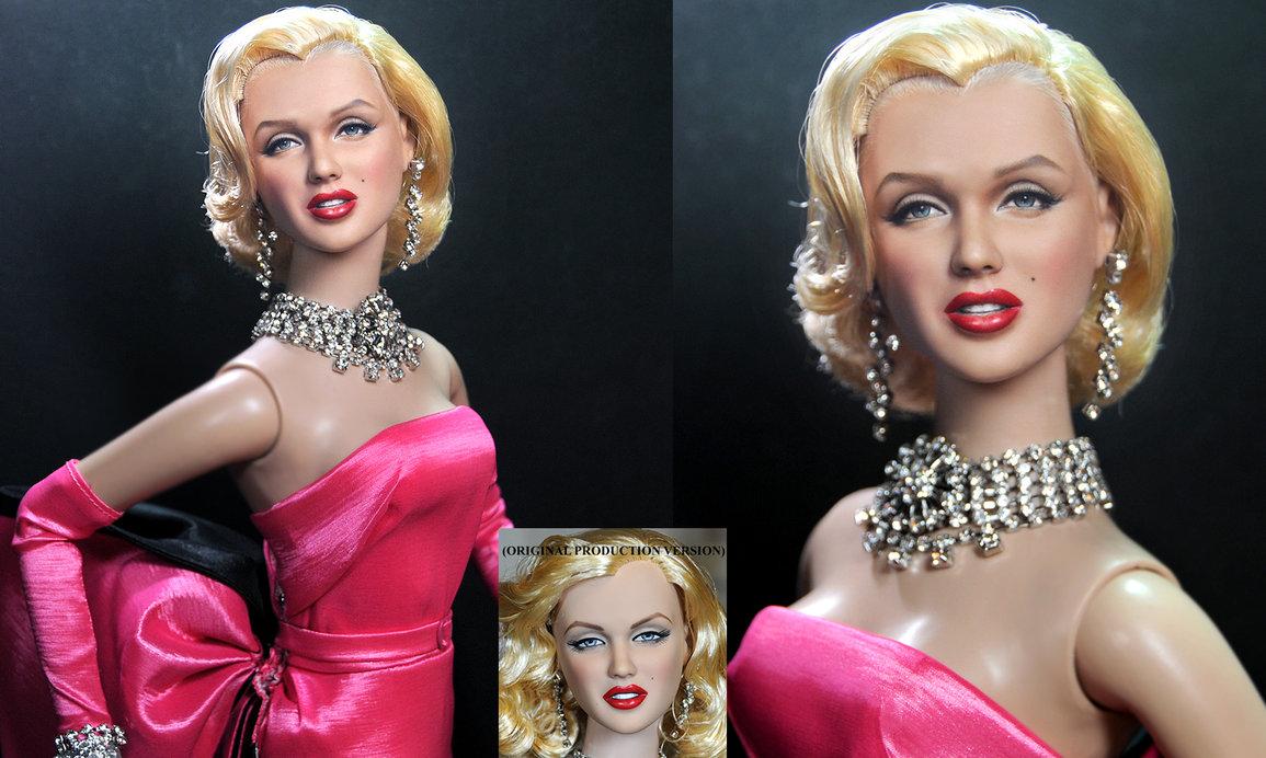 marilyn monroe muñeca doll