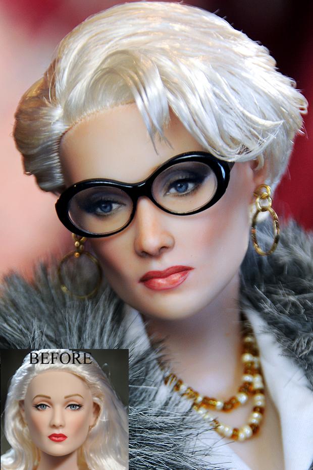 meryl streep Miranda Priestly muñeca doll diablo viste prada
