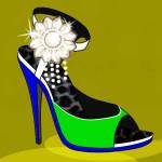 Moda de zapatos de tacón