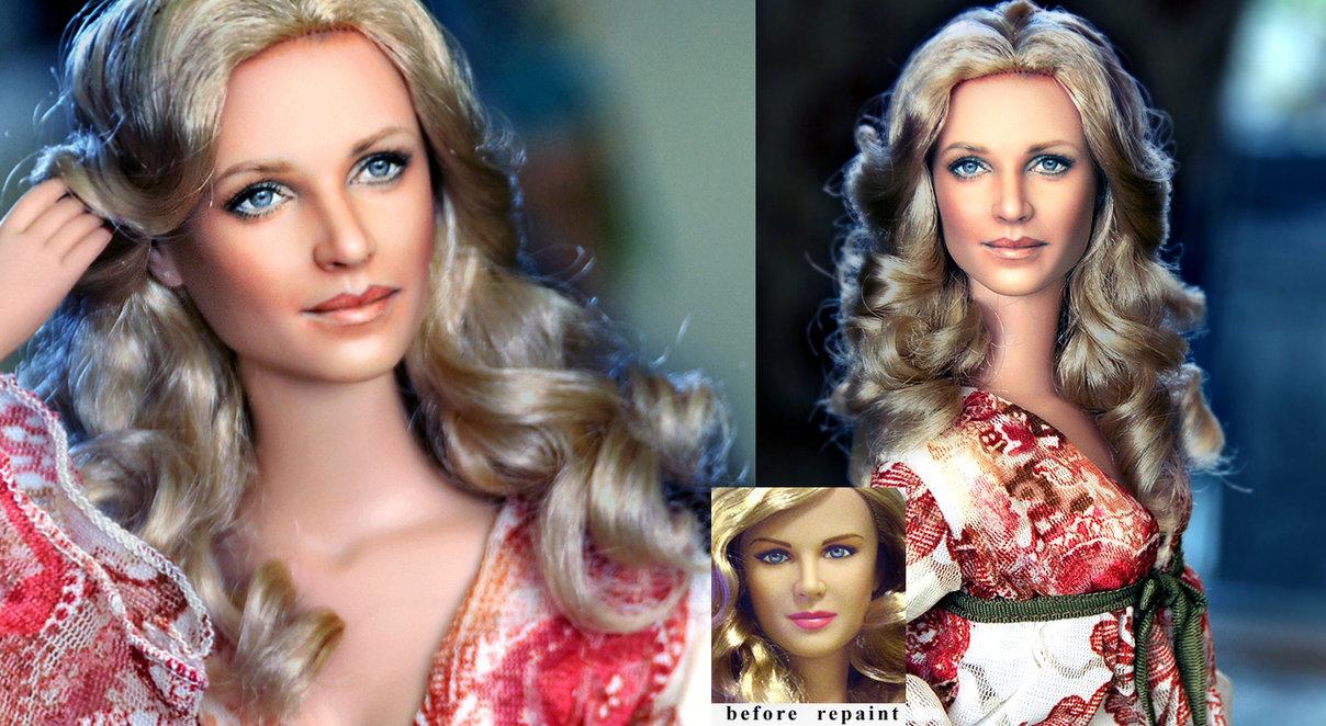 mujer bionica lindsay wagner muñeca doll