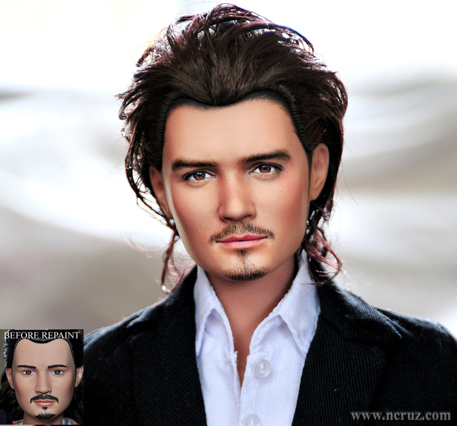 orlando bloom Will Turner piratas caribe muñeco