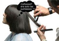 peluquero puntas