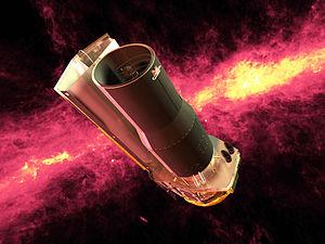 spitzer telescopio rayos infrarrojos