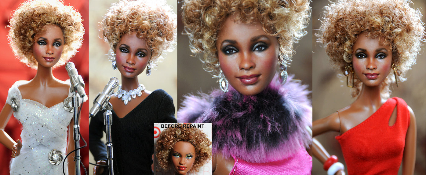 whitney houston muñeca doll