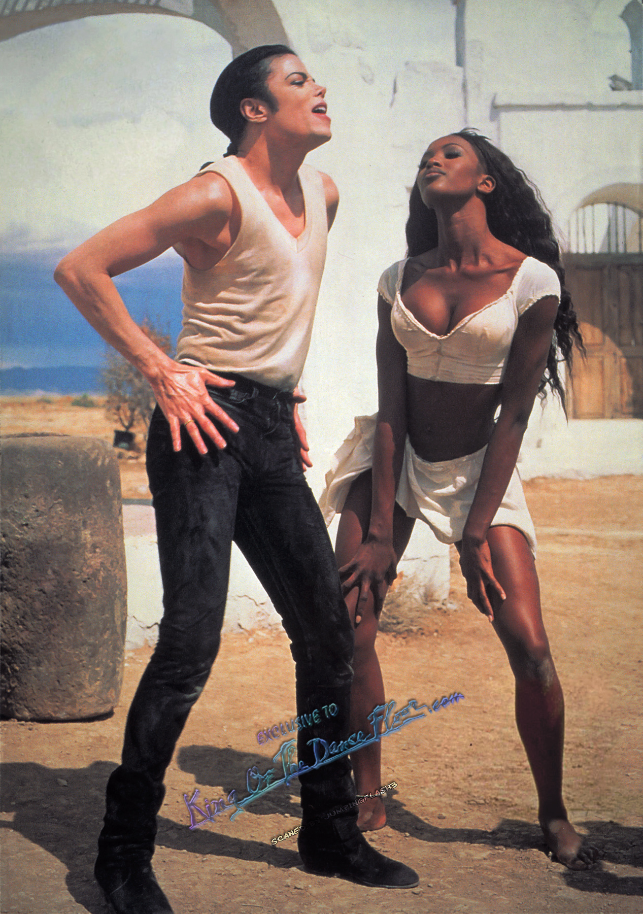 Michael Jackson Naomi Campbell In The Closet