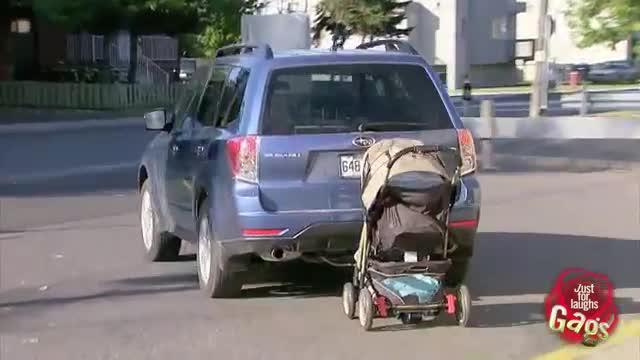 broma robando bebe