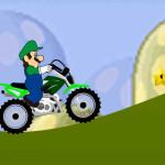 Juego de carreras con Luigi en moto cross