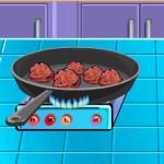 Juego de cocinar albóndigas de jalapeños
