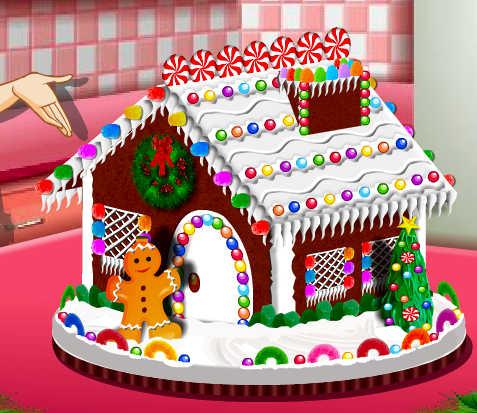 Juego para cocinar una casa de jengibre juegos for Casa jengibre