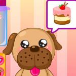 Juego de cocinar pasteles para mascotas
